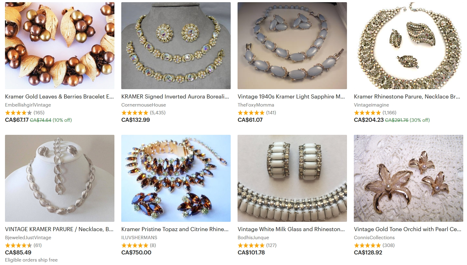 Expensive Vintage Costume Jewelry A Quick List How To