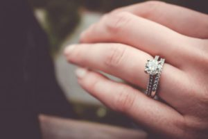 history of engagment rings