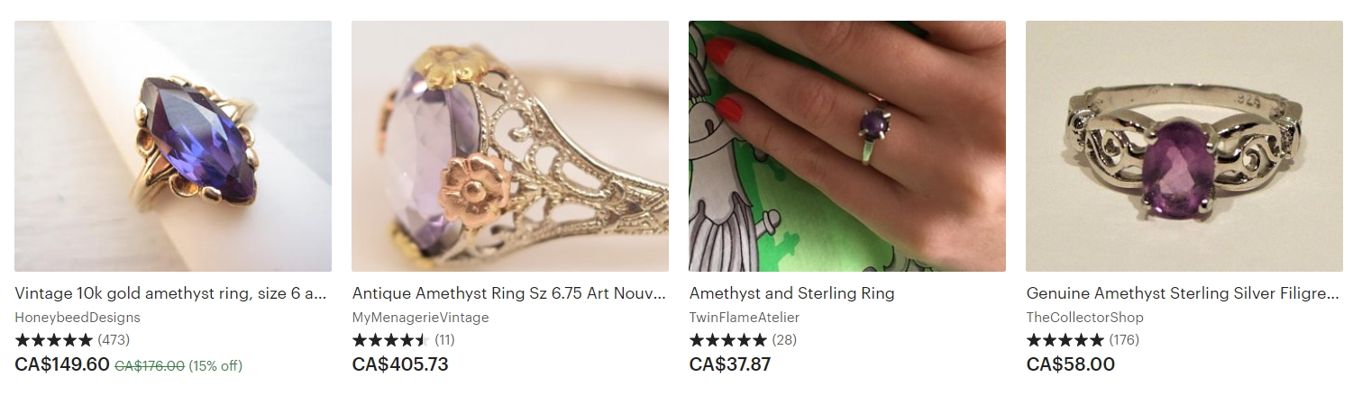 Vintage Anniversary Rings A Traditional Anniversary Gift Idea