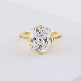 4.8 Carat Engagement Ring Cocktail Ring by Trove Comapny on Etsy