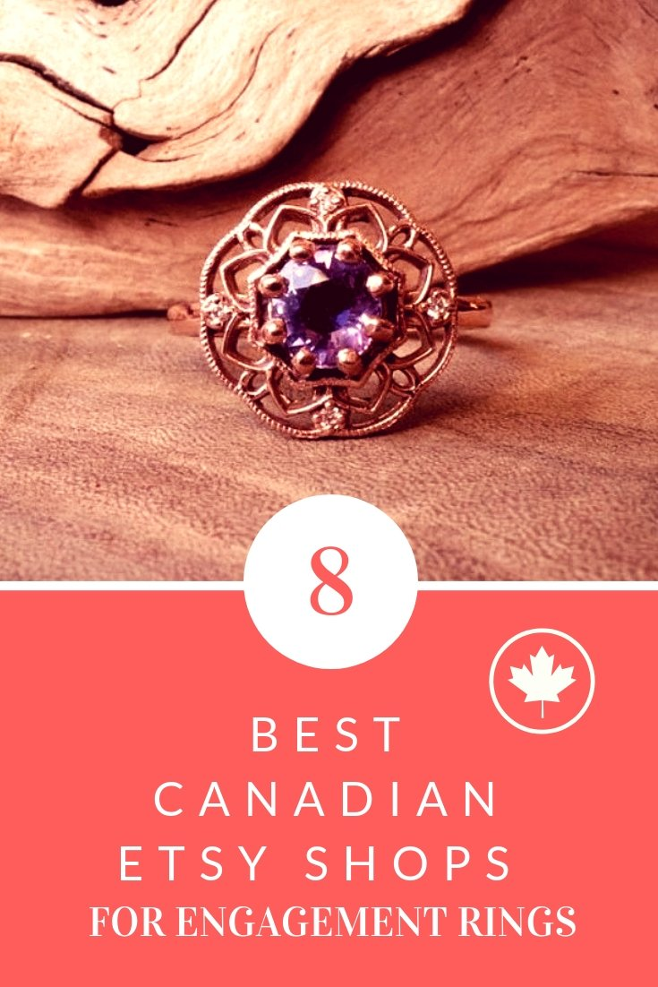 best canadian etsy shops for engagement rings