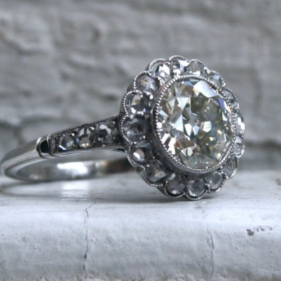 What is an Old Mine Cut Diamond?