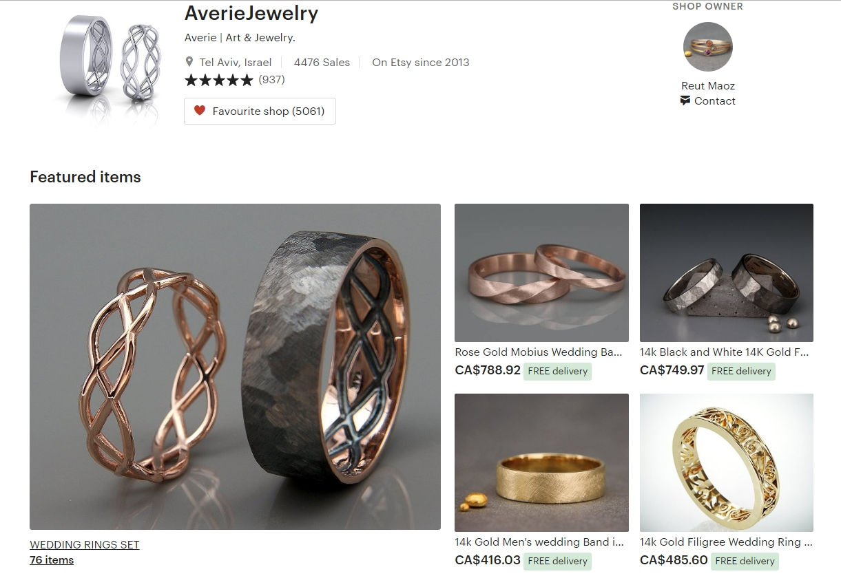 Best Etsy Shops For Mens Wedding Bands How To Buy Vintage Jewelry