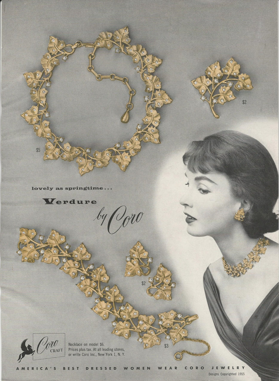 coro jewelry ad