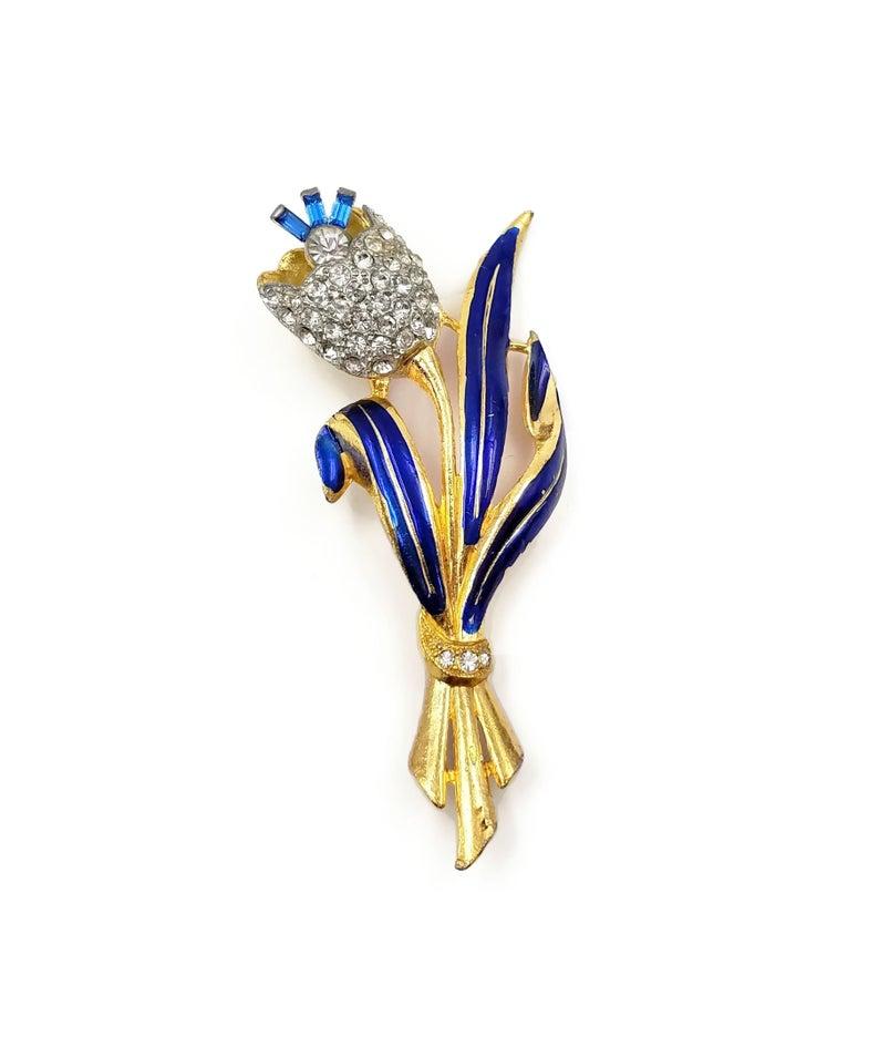 coro trembler brooch from zephyr vintage on Etsy