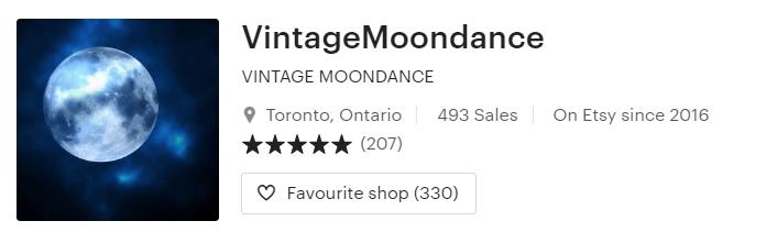 VINTAGE MOONDANCE by VintageMoondance on Etsy