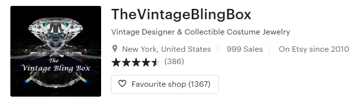 Vintage Designer & Collectible Costume by TheVintageBlingBox