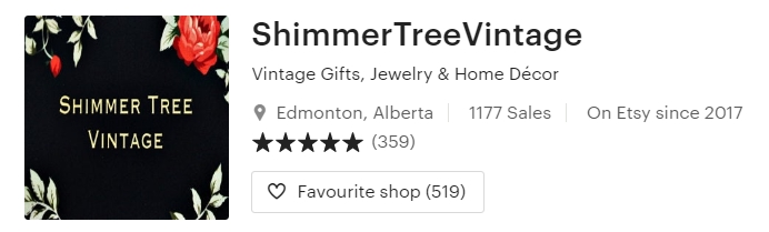 Vintage Gifts Jewelry & Home Décor by ShimmerTreeVintage on Etsy