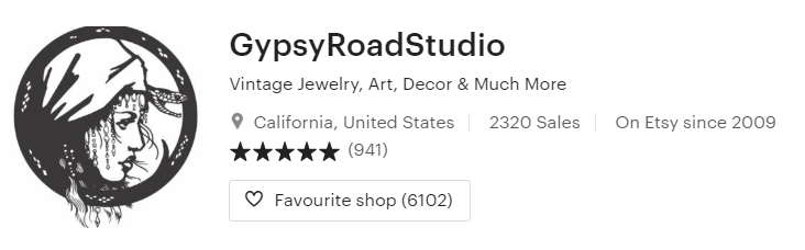 Vintage Jewelry Art Decor & Much More by GypsyRoadStudio on Etsy