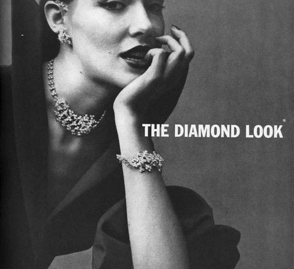 the diamond look by kramer vintage ad