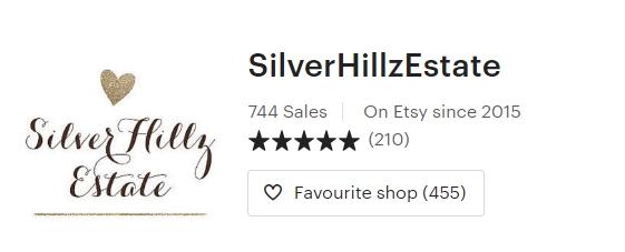 SilverHillzEstate on Etsy