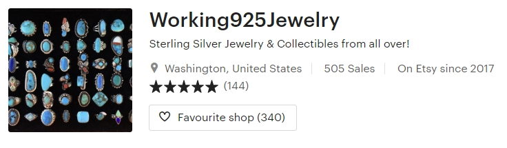 Sterling Silver Jewelry & Collectibles from by Working925Jewelry on Etsy