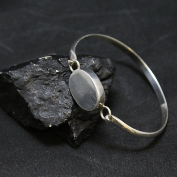 Sterling Silver Monogram Bracelet Mexico Sterling Silver