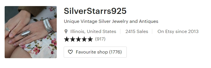 Unique Vintage Silver Jewelry and Antiques by SilverStarrs925