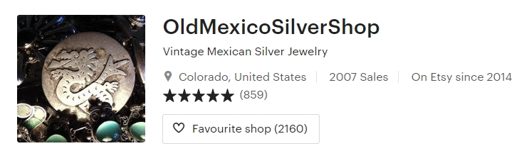 Vintage Mexican Silver Jewelry by OldMexicoSilverShop on Etsy