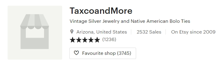 Vintage Silver Jewelry and Native American Bolo by TaxcoandMore on Etsy