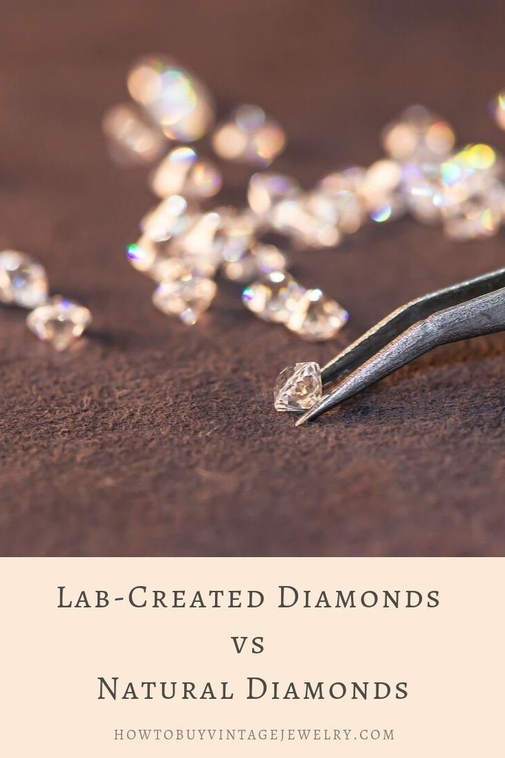 synthetic diamonds vs natural diamonds