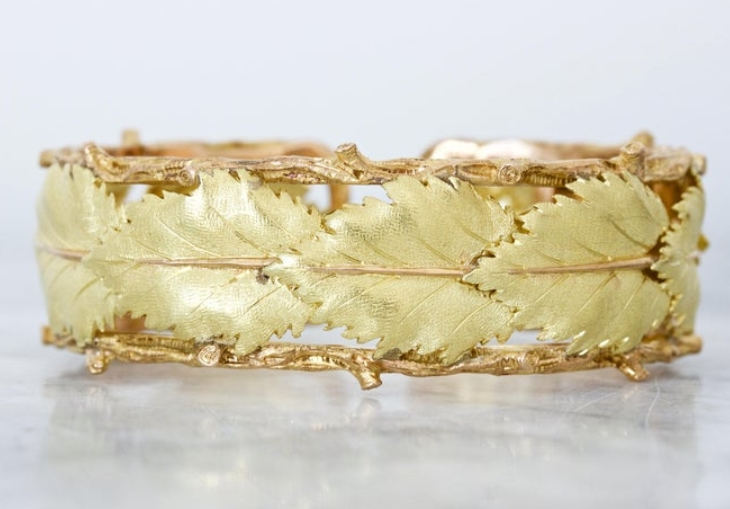 1960s Vintage Buccellati Cuff Bracelet from Fergusons Fine Jewelry on Etsy