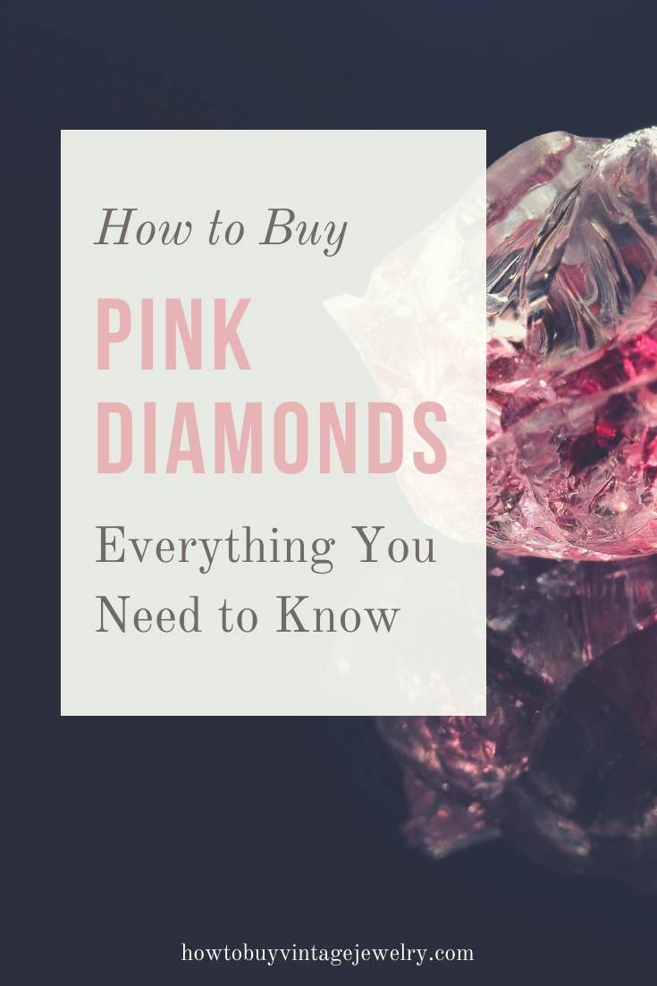 how to buy pink diamonds - what you need to know