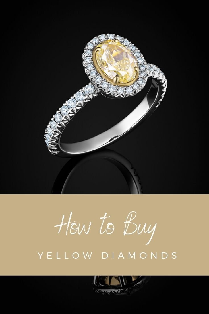how to buy a yellow diamond
